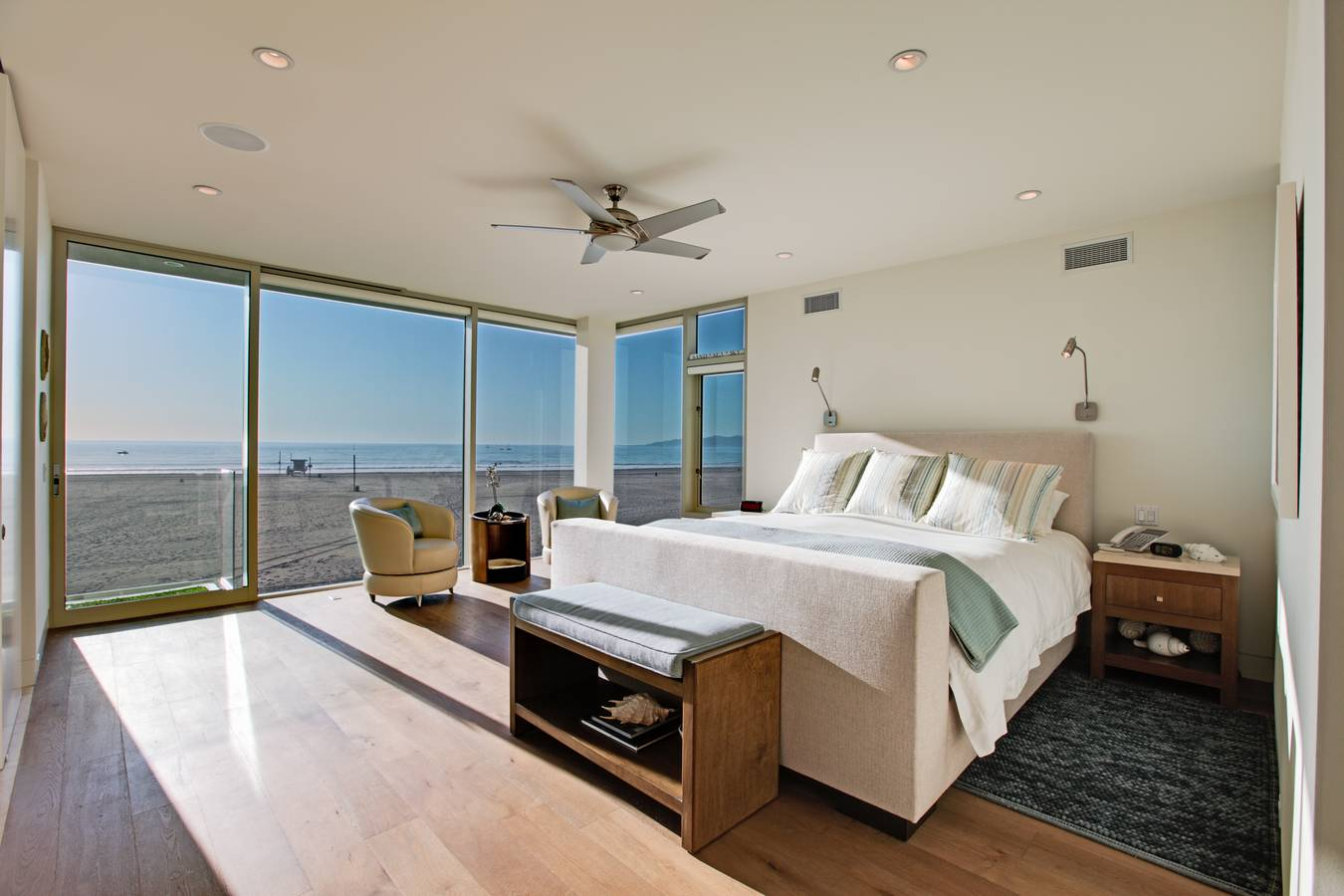 Modern beach bedrooms - Master Bedroom Master Bathroom