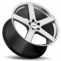 TSW Alloy Wheels - the Rivage in Hyper Silver