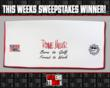 Players Towel Facebook Sweepstakes Winner