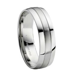 hypoallergenic stainless steel wedding bands now available from mwr - Hypoallergenic Wedding Rings