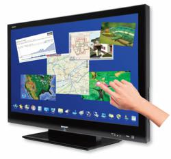 CleverTouch Interactive Touchscreen Overlay