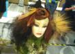 Melanie's look for the Fantasy Inspired by Nature Competition was inspired by Japanese Maple leaves.