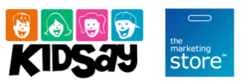 KidSay and The Marketing Store logos