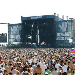 2011 Hangout Music Fest overlooking the Big Kahuna Stage