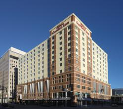 The Hilton Garden Inn Denver Downtown Hotel