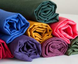 Linen fabric in seasonal colors