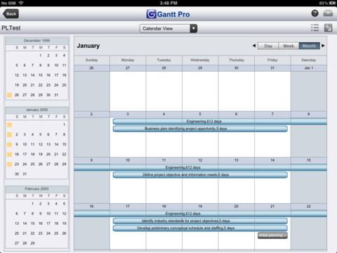 Microsoft Project Plans on iPhone & iPad - Showcasing Gantt Lite ...
