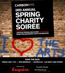 Carbon and Esquire Partner for 3rd Annual Spring Charity Soirée