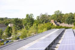 University Solar Panels