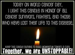 world_cancer_day_memory_candle