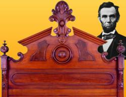 The Lincoln Bed - Historical Antique