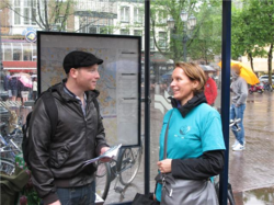 Amsterdam Scientologists promote drug-free living through distribution of the Truth about Drugs.