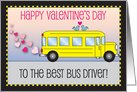 Valentines Day Card for Bus Driver