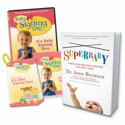 Sign Language Starter Kit includes the best-selling book SuperBaby