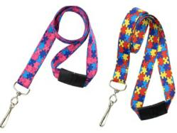Autism Awareness Lanyards - Help Support the Autism Speaks Foundation
