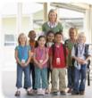 Autism Awareness Lanyards at school
