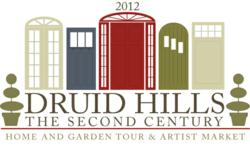 Druid Hills 2012 Tour of Homes and Gardens & Artist Market Logo
