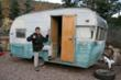 1962 Shasta before the Retro Trailer Design restoration