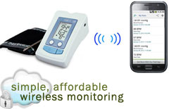 wireless monitoring and mHealth using the MyVirtualHealthCheck.com health and disease management ecosystem