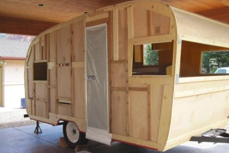Exterior Restoration Of 1962 Shasta
