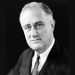 President Franklin Delano Roosevelt dedicated Hillwood Square on May 30, 1942. Franklin Walk, the tree-lined sidewalk leading to the community center, is named after him.