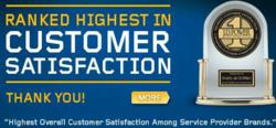 Napa AUTOPRO J.D. Power and Associates customer satisfaction award