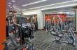 The Galaxy Apartments Huge Fitness Center in Silver Spring, Maryland