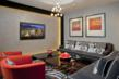 The Galaxy Apartments Contemporary Lobby in Silver Spring, Maryland