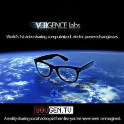 "Vergence Labs is creating ""smart"" video glasses and a web platform, YouGen.tv for the fun online social sharing of data  that you generate."