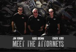 Russ Brown Motorcycle Accident Attorneys