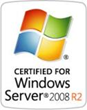 NOVAtime is certified for Windows 2008 R2 by Microsoft