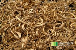 Scrap Gold at KMG Gold Recycling