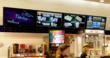 Rave Cinemas Digital Menu Boards