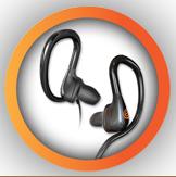 Award winning custom fitted earphones