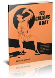"""170 Gallons A Day"" eBook about Homemade Water Filtration Device AbsoluteRights.com"