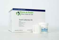 Store-A-Tooth collection kit: Provia Labs makes it easy for patients to preserve their dental stem cells.