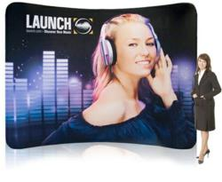 Backwall Display for Marketing and Promotional Display