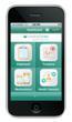 HealthyCircles' Mobile App- Dashboard