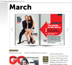 SeekingArrangement.com Featured in the GQ Magazine
