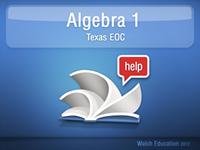Algebra I Help Texas EOC app