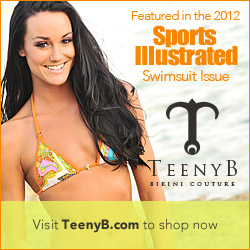 TeenyB Bikini Couture Featured In 2012 Sports Illustrated Swimsuit Issue