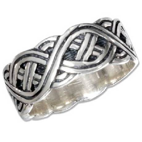 silver celtic wedding rings sterling silver celtic wedding