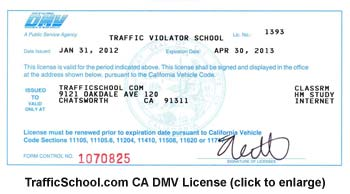 Vehicle Registration Ca >> TrafficSchool.com Becomes the First Online and Homestudy Traffic School Licensed by the ...