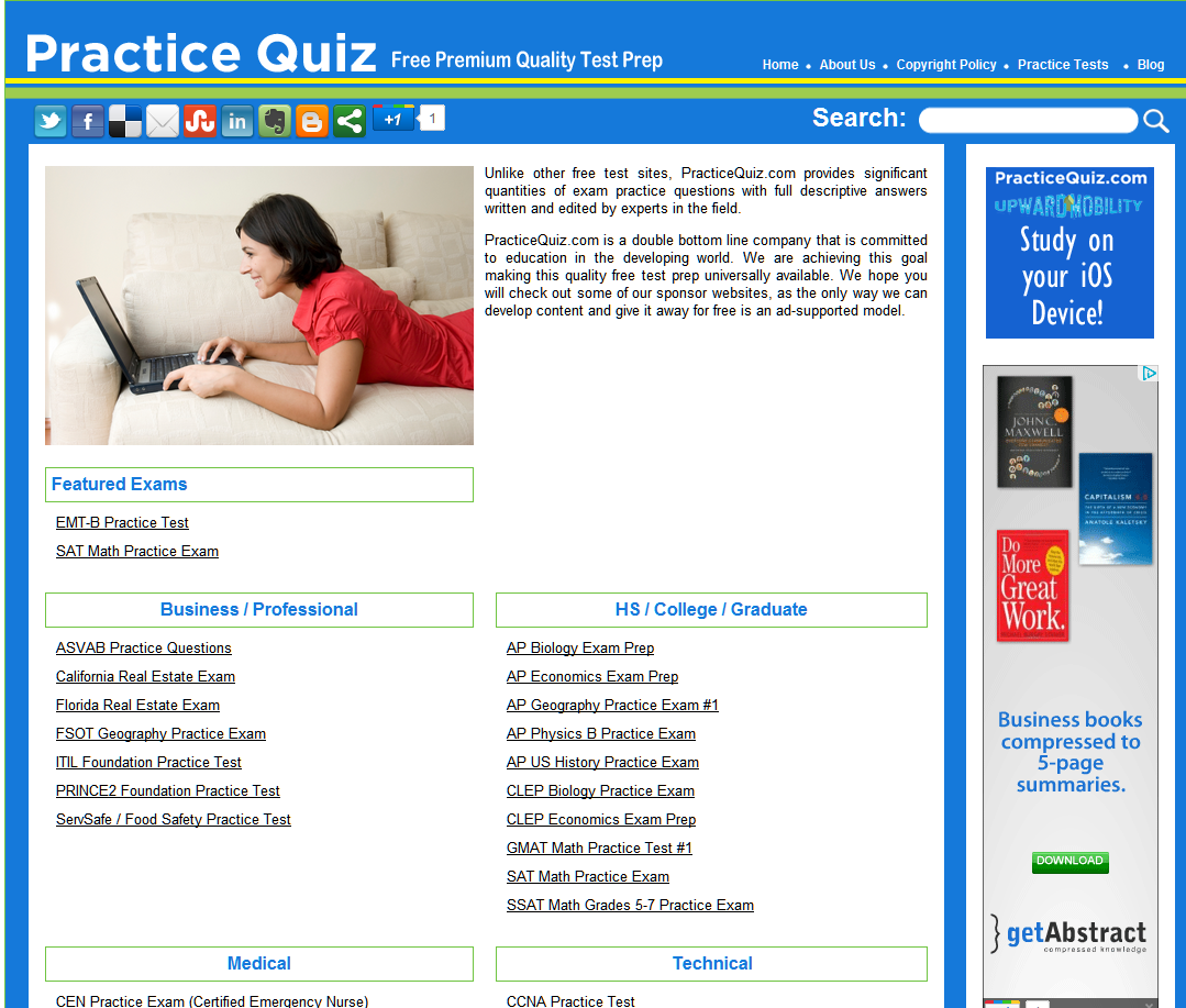 reviewer for it quiz Quia web allows users to create and share online educational activities in dozens of subjects, including spanish.