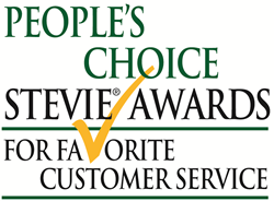 People's Choice Stevie Awards for Favorite Customer Service
