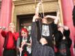 Sword swallowers Hollywood George the Giant