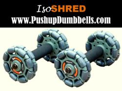 IsoSHRED Fitness push up equipment