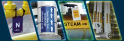 Pipe label examples