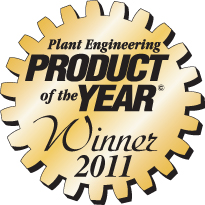 Gates Corporation Product of the Year Award from Plant Engineering for MegaSys