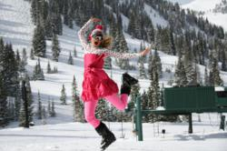 Head to Alta in April for great skiing at Alta Ski Area and spring fun